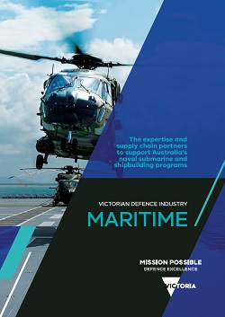 Victorian Defence Industry - Maritime brochure